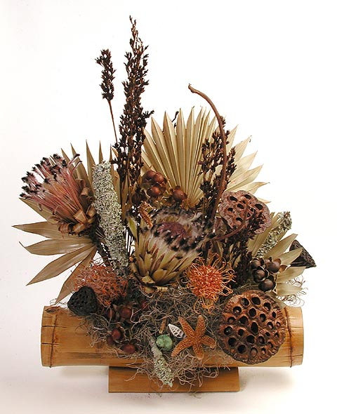 Maui Dried Flowers - Dried Arrangements