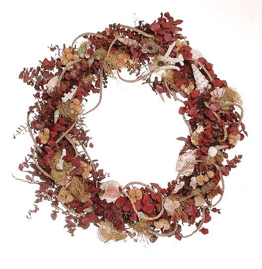 طريقـة تجفيف الأزهار والورود Wreath_shell_lg