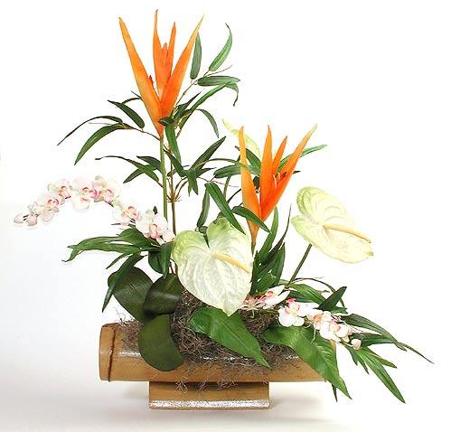 Tropical silk flower arrangements revolutionhr maui dried flowers silk arrangements mightylinksfo